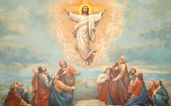 Lễ Chúa Lên trời. Chúa Giê-su về trời dọn chỗ cho chúng ta